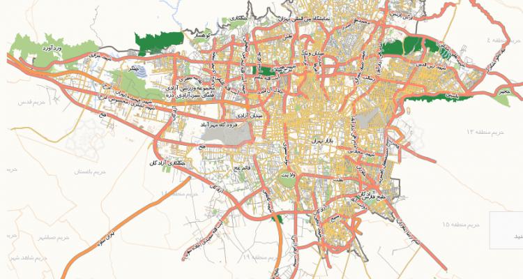 پخش تراکت در تمام مناطق تهران بدون دور ریز و 100% تضمینی
